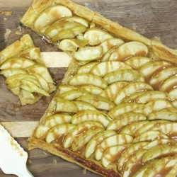 Picture of Caramel Apple Tart